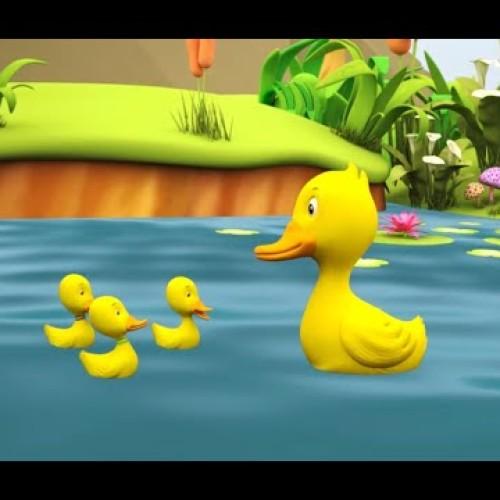 Ratustele mele pe apa s-au dus – Cantec pentru copii cu versuri